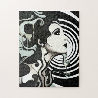 Spiral Melting Woman Puzzle