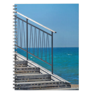 "Spiral note pad ""ascent "" notebook"