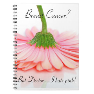 Spiral Notebook for the Breast Cancer Survivor