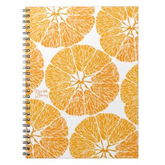 Spiral Notebook - Orange you glad . . .