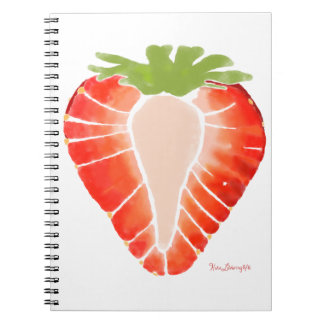 Spiral Notebook - Strawberry Secret