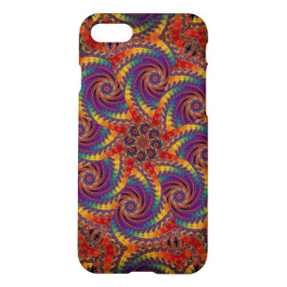 Spiral Octopus Psychedelic Rainbow Fractal Art iPhone 7 Case