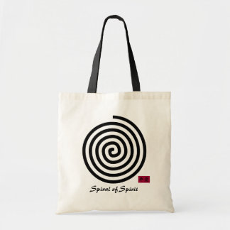 Spiral of Spirit Tote Bag
