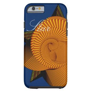 Spiral of star tough iPhone 6 case