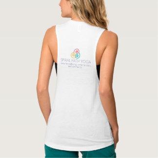 Spiral Path Yoga Tank Top - Kindness to Balance