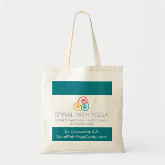 Spiral Path Yoga Tote Bag