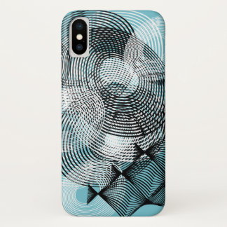 Spiral Pattern iPhone X Case