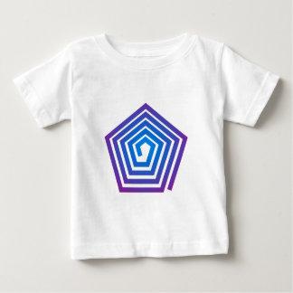 Spiral pentagon spiral Pentagon Baby T-Shirt