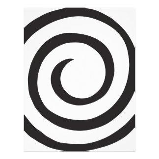 Spiral Personalized Letterhead