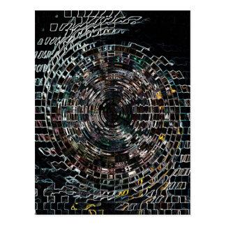 Spiral Postcard