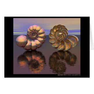 Spiral Shell Card