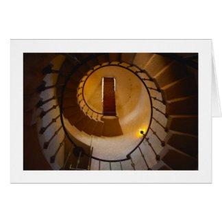 Spiral Stair Card