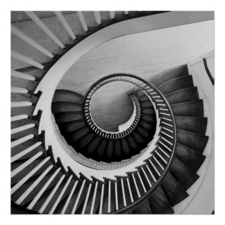 Spiral staircase 01 poster