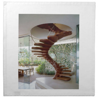 SPIRAL STAIRCASE : House Interior Woodwork GIFTS Napkin
