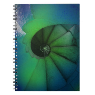 spiral stairs notebook