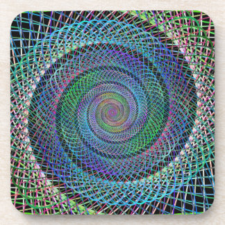 Spiral structure coaster