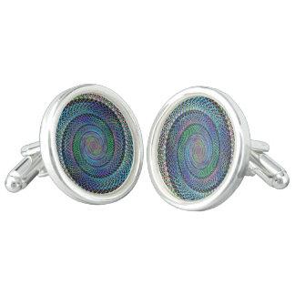 Spiral structure cufflinks