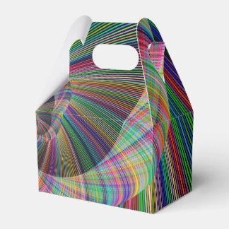 Spiral Wedding Favor Box