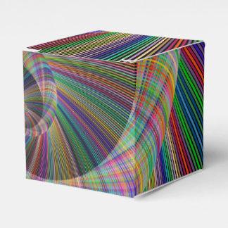 Spiral Wedding Favor Boxes
