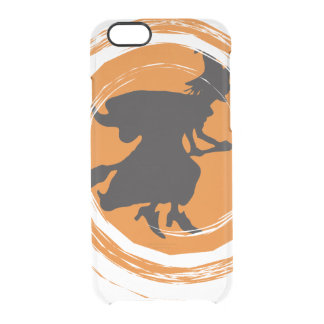 Spiral Witch II Clear iPhone 6/6S Case