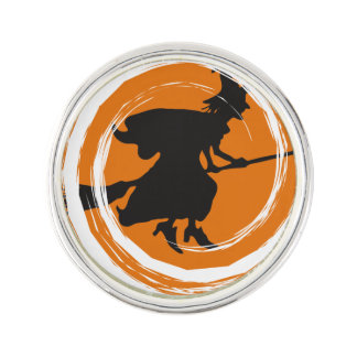 Spiral Witch II Lapel Pin
