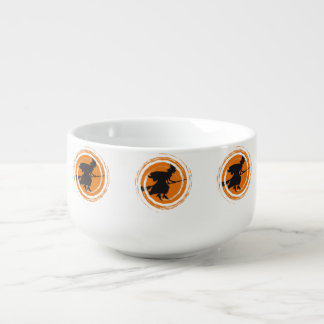 Spiral Witch II Soup Bowl With Handle