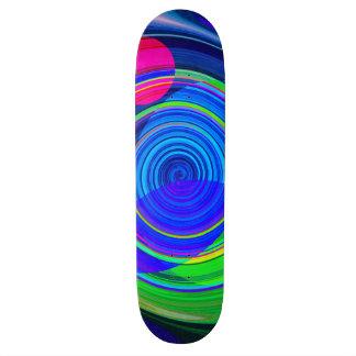 Spirale recréée plateaux de skate