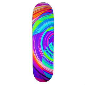 Spirale recréée skateboards personnalisés