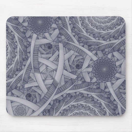 """spiralf1lm"" Mouse Pad"
