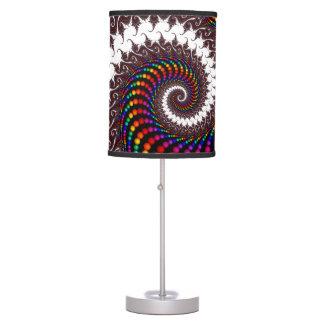 Spiraling Beads Lamp