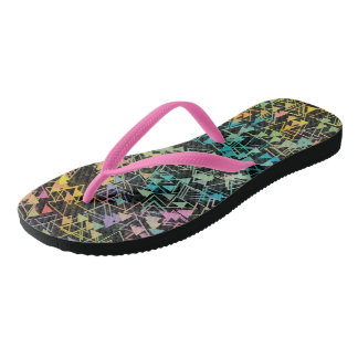 Spiraling Triangles Flip Flops