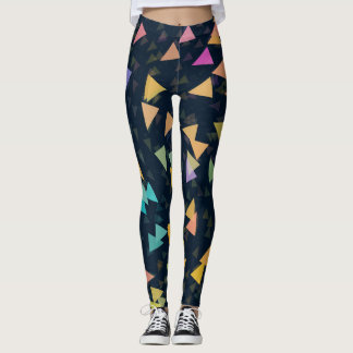 Spiraling Triangles Leggings