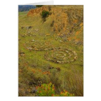 Spirals at Lime Ridge Card