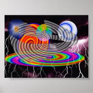 spirals of darkness poster