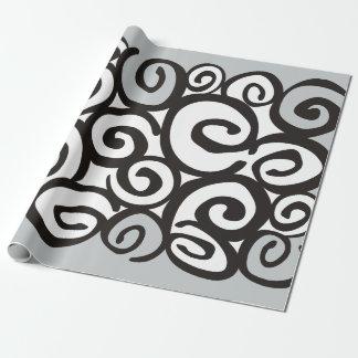 Spirals Pattern Black & White + your ideas