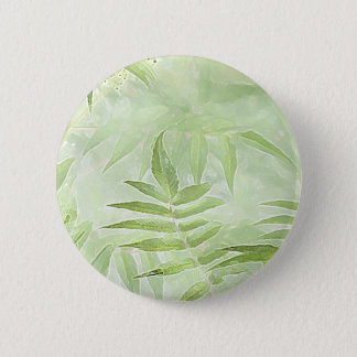 Spirea Leaves - Digital Art 2 Inch Round Button