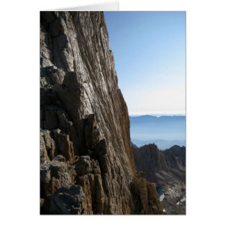 Spires of Mount Whitney Card