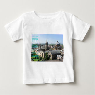 Spires of Oxford poem by: Winifried Mabel Letts Baby T-Shirt