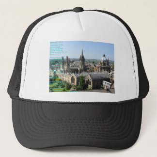 Spires of Oxford poem by: Winifried Mabel Letts Trucker Hat