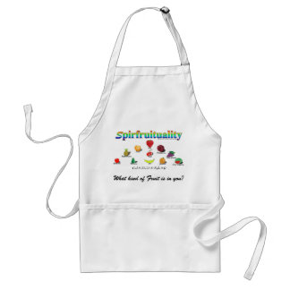 Spirfruituality: What kind of Fruit is in you? Standard Apron
