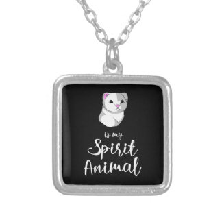 Spirit Animal for Products Silver Plated Necklace