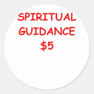 SPIRIT CLASSIC ROUND STICKER
