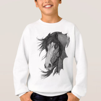 'Spirit' Clydesdale Stallion Horse Art Sweatshirt