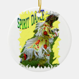 Spirit Dance Native American Christmas Ornament
