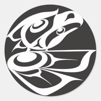 Spirit Eagle Round Sticker