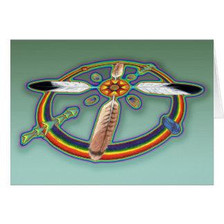 Spirit Feathers Card