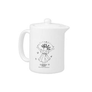 Spirit-Filled Tea Pot