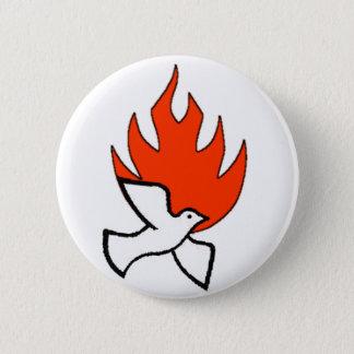 spirit & fire 2 inch round button