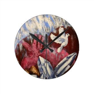 Spirit Given Round Clock
