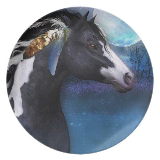 spirit horse equine gift plate